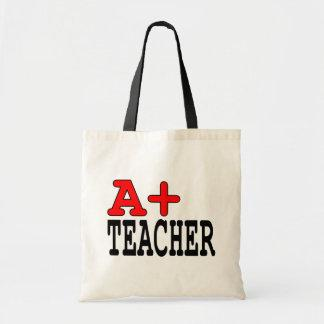 Funny Gifts for Teachers : A  Teacher Canvas Bags