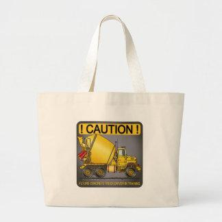 Future Concrete Truck Driver Tote Bag