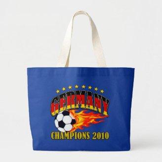 Germany Champions Tote Bags