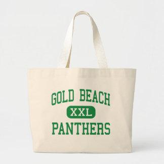 Gold Beach - Panthers - High - Gold Beach Oregon Tote Bag