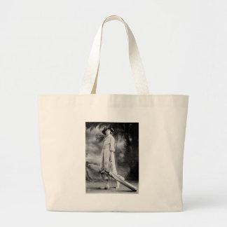 Golfing in Style, 1920s Canvas Bag