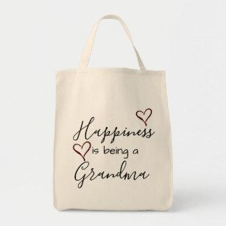grandma's tote - happiness is being a grandma