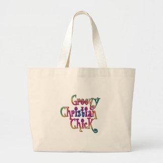 Groovy Christian Chick Canvas Bags