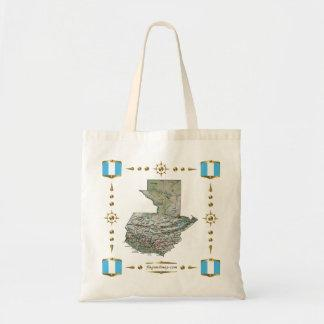 Guatemala Map   Flags Bag