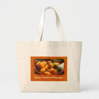 Halloween Thanksgiving Harvest 4 Tote Bag