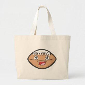 Happy Football Tote Bags