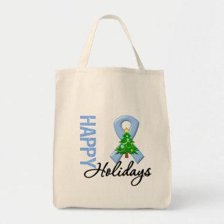 Happy Holidays Prostate Cancer Awareness Bags