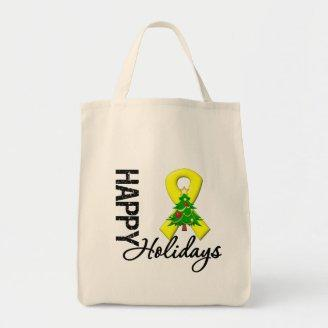 Happy Holidays Sarcoma Awareness Bags