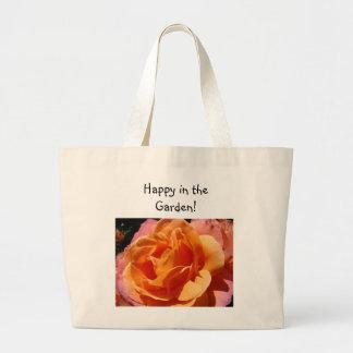 Happy in the Garden! Rose Flower bags Floral