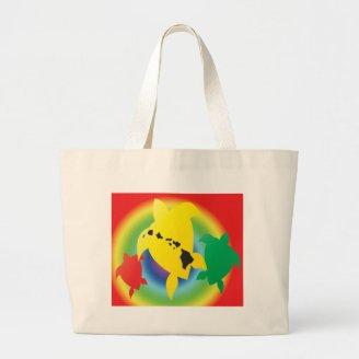Hawaii Reggae Turtles Bags