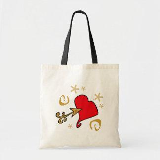 Heart and Arrow Valentine T-shirts and Gifts Bags