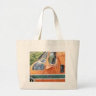 Helicopter Canvas Bag