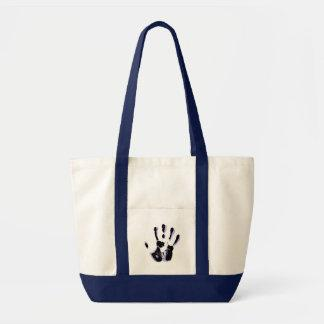 Helping Hand Canvas Tote Bag