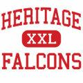 Heritage - Falcons - Middle - Berwyn Illinois Canvas Bag