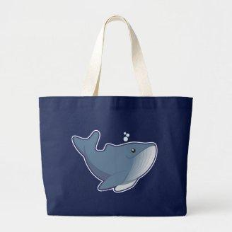 Humpback Whale Canvas Bag