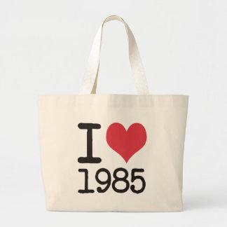 I Love 1985 T-Shirts Products & Designs! Tote Bags
