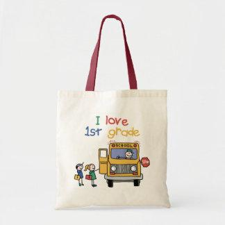 I Love 1st Grade Bag