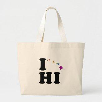 I LOVE GAY HAWAII BAGS