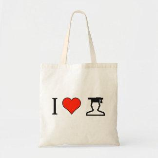 I Love People Graduating Budget Tote Bag