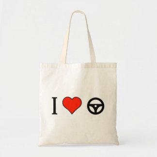I Love Turning The Wheel Budget Tote Bag