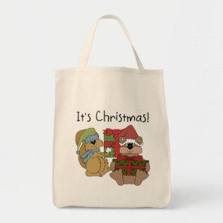 It's Christmas Tshirts and Gifts Canvas Bag