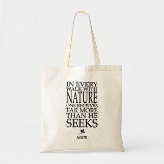John Muir Canvas Bags