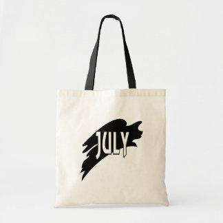 July 3 canvas bags