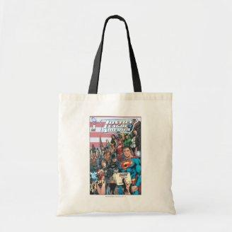 Justice League of America First Issue Canvas Bags