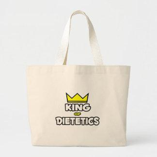 King of Dietetics Canvas Bags