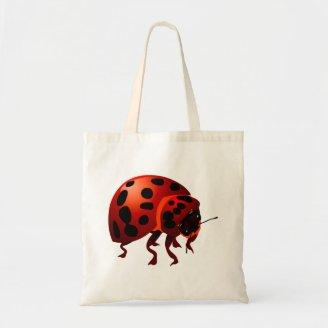 Ladybird lady nose canvas bags