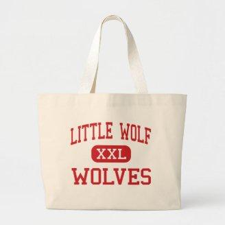 Little Wolf - Wolves - High - Manawa Wisconsin Tote Bags