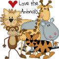 Love the Animals Tshirts and Gifts