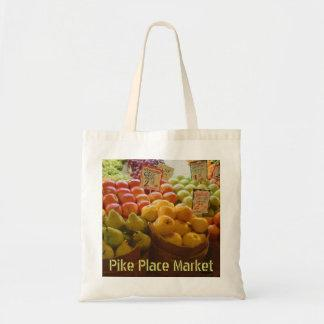 Market Apples - The Pike Place Market Tote Bag