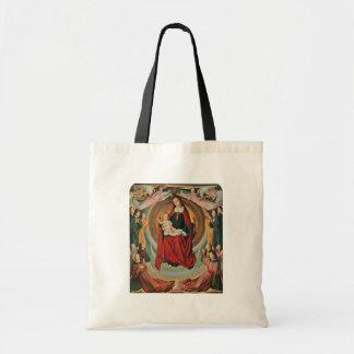 Mary And Angels In Glory By Meister Von Moulins Ak Canvas Bags