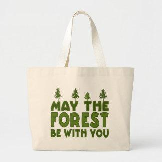 May the Forest be With you Bags