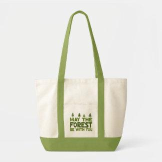 May the Forest be With you Tote Bags