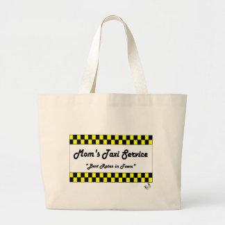 Moms Taxi Tote Bags