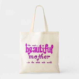 Mothers Day Moms Birthday Parties Beautiful Mother Tote Bag