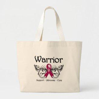 Multiple Myeloma Warrior Scroll Bags