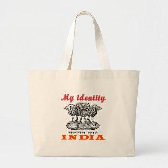My Identity India Canvas Bags