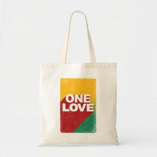 One love rasta tote bag