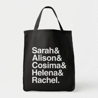 Orphan Black | Ampersand Design Tote Bag