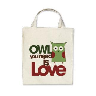 Owl you need is love bags