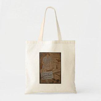 Packing Lunch Boxes WWII Canvas Bag