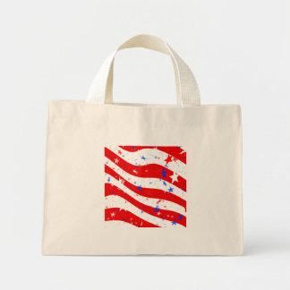 Patriotic Red, White, and Blue Stars & Stripes Tote Bag