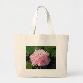Pink bloom canvas bags