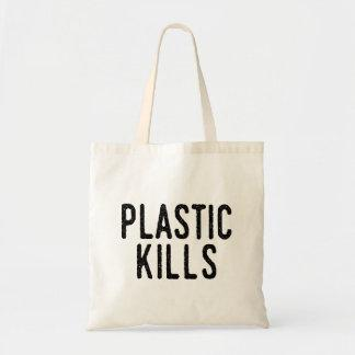 Plastic Kills: Stop Pollution Save The Environment Tote Bag