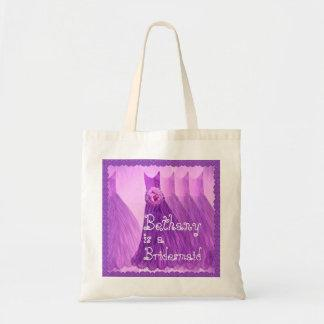 Purple Dresses and Lace Bridesmaid  Bag V03