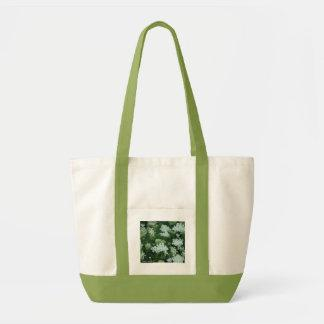 'Queen Ann's Lace' Tote Bags