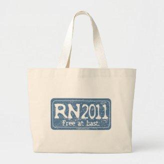RN 2011 - Free at Last Canvas Bags